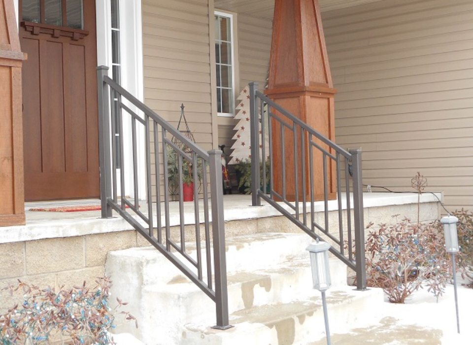Commercial Interior Guardrails Artistic Ornamental Iron Is Your Minneapolis Mn Custom Iron