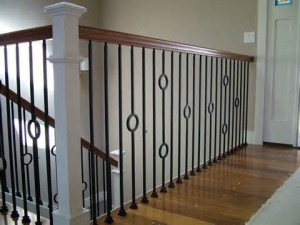 Iron Baluster in a Plymouth Home
